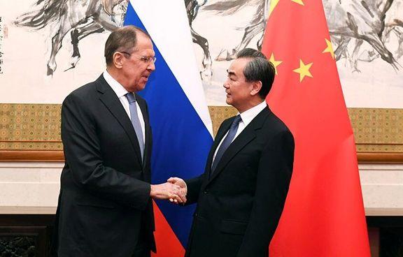 سرگی لاوروف وزیر خارجه چین درباره ایران دیدار و گفتگو کرد