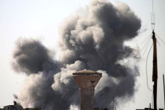 انفجار مقر فرانسوی ها در الرقه