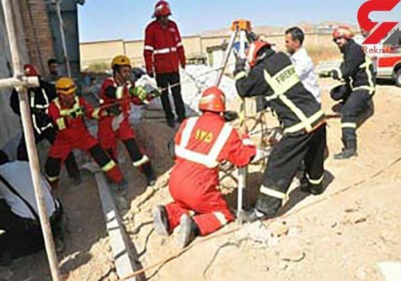 ریزش ساختمان سه طبقه بر سر جوان ۲۲ ساله افغانستانی