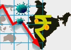 اوضاع وخیم اقتصادی هندوستان به دلیل شیوع کرونا / احتمال کاهش شدید رشد اقتصادی در هند