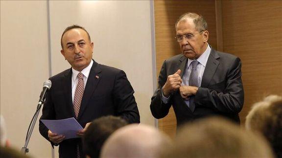چاووش اوغلو با همتای روسی خود بر سر لیبی رایزنی کردند