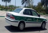 ورود اولین خودرو ملی به ناوگان پلیس کیش