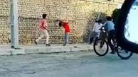 والیبال بازی کردن کودکان در قائنات توجه تمام دنیا را جلب کرد + فیلم