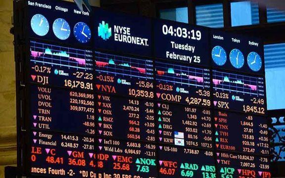 ریزش بورس آمریکا به دنبال رشد منفی بخش خرده فروشی