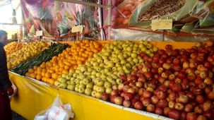 قیمت انواع میوه و ترهبار در تهران چقدر است؟