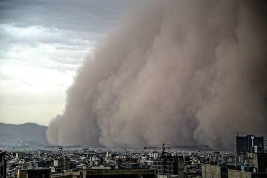 ساعت 17 تهران توفان سنگینی را تجربه خواهد کرد