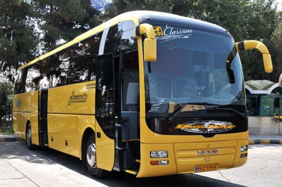 افزایش 20 درصدی قیمت بلیط اتوبوس لغو شد