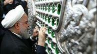 تصاویری از حضور حسن روحانی در شهر نجف اشرف در میان جمعیت + ویدئو