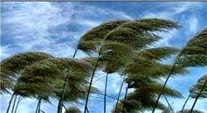 وزش بادهای شدید و کاهش 6 تا 12 درجهای دما