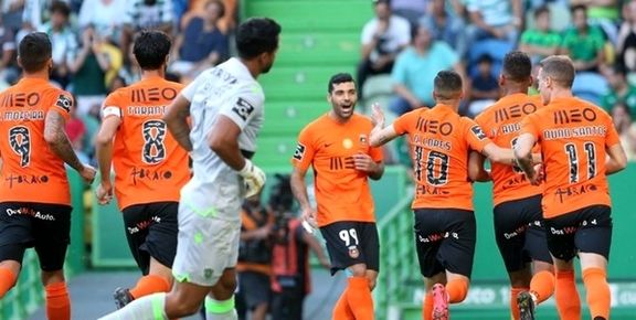 مهاجم ایرانی بهترین بازیکن لیگ پرتغال تا هفته چهارم شد