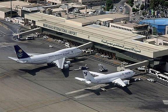 درخواست فرودگاه مهرآباد از مسافران/ دو ساعت قبل از پرواز در فرودگاه حاضر شوید