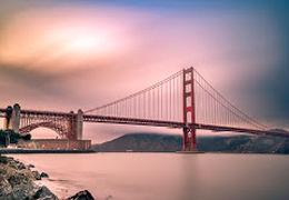 معترضان به بی عدالتی در آمریکا، پل گلدن گیت در کالیفرنیا را مسدود کردند