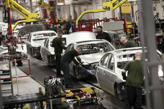 سقوط 37 درصدی تولید خودروی انگلستان به دنبال کمبود تراشه