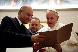 پاپ فرانسیس: استقلال عراق باید محترم شمرده شود