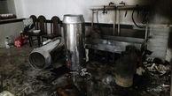 انفجار یک واحد مسکونی در خیابان تختی تهران
