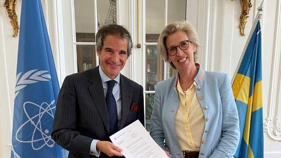سوئد حامی مالی فعالیتهای آژانس در ایران شد