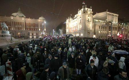 صربستان در ششمین هفته اعتراضات ضد دولت