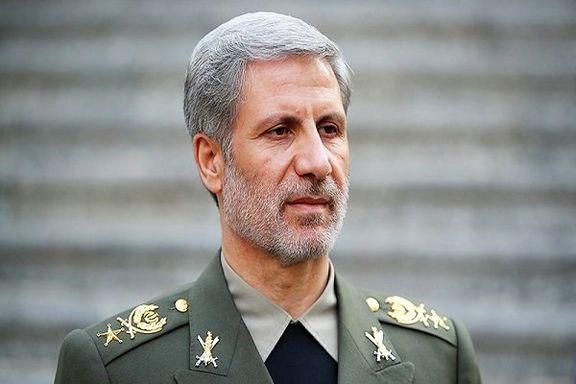 وزیر دفاع ایران  وارد موریتانی شد