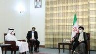 رئیسی در دیدار با وزیر خارجه قطر: اطمینان داشته باشید که ایران خیرخواه همسایگان خود است