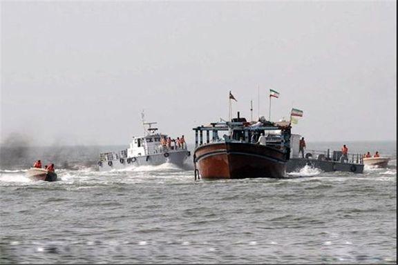 توقیف ۱۲ هزار لیتر سوخت قاچاق در خلیجفارس/ دستگیری ۸ متهم