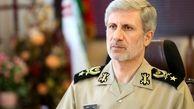 توضیح وزیر دفاع ایران درباره موشک های ایران