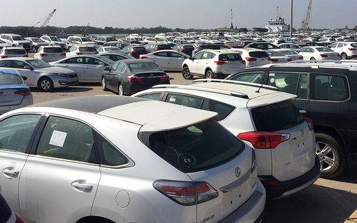 روند قیمت خودروهای خارجی کاهشی شد