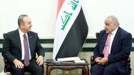 نخست وزیر عراق به ترکیه دعوت شد / عبدالمهدی و چاووش اوغلو درباره راه آهن بصره ترکیه و اروپا صحبت کردند