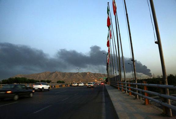 جزئیات آتشسوزی در اطراف خط لوله انتقال نفت برومی اهواز