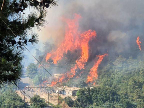 اعلام آمادگی وزارت دفاع ایران برای کمک به اطفای آتشسوزیهای گسترده در ترکیه