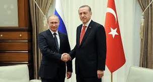 دیدار پوتین و اردوغان در مسکو
