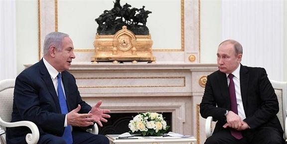 نخستوزیر رژیم صهیونیستی با ولادیمیر پوتین درباره ایران دیدار میکند