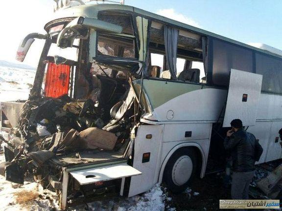جزئیات بیشتر در مورد تصادف اتوبوس حامل دانش آموزان در تبریز