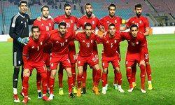 حضور تیم ملی ایران در سن پترزبورگ