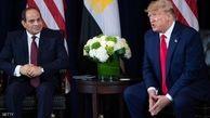 تشکر رئیس جمهور مصر از ترامپ