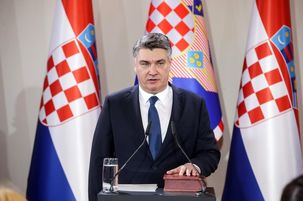 رئیس جمهور جدید چپ گرای کرواسی سوگند یاد میکند