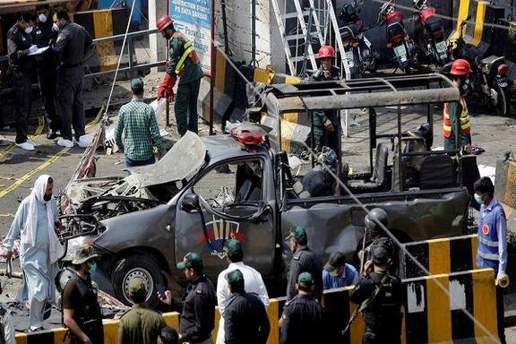 حمله مسلحانه  به هتلی در پاکستان