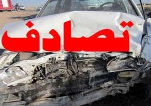 جزئیات تصادف شدید در محور فیروزآباد-قیروکارزین/ ۱۵ نفر مصدوم شدند