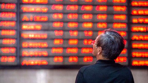 بازار سهام چین یکپارچه قرمز شد