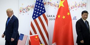 ترامپ: من رئیسجمهور برگزیده ای برای مقابله با چین هستم