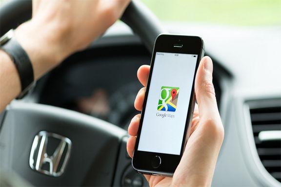 استفاده از مسیریابی نقشه گوگل در آیفون بدون باز کردن قفل گوشی