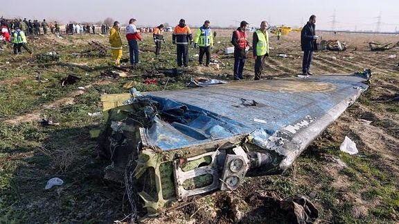 تصویر دیگری از شلیک به هواپیمای اوکراینی + فیلم