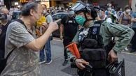 دستگیری هنگ کنگی های معترض علیه چین