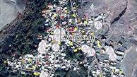 انتشار تصاویر ماهوارهای از تخریب ساختمانها در زلزله آذربایجان شرقی