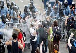 اعتراضات در استکهلم