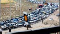 ترافیک جاده تهران - مشهد افزایش یافت
