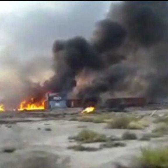 آخرین خبرها از سانحه آتش سوزی در اراضی منطقه آزاد قشم/ علت آتش سوزی چه بود؟