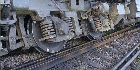 قطار خوزستان - تهران از ریل خارج شد