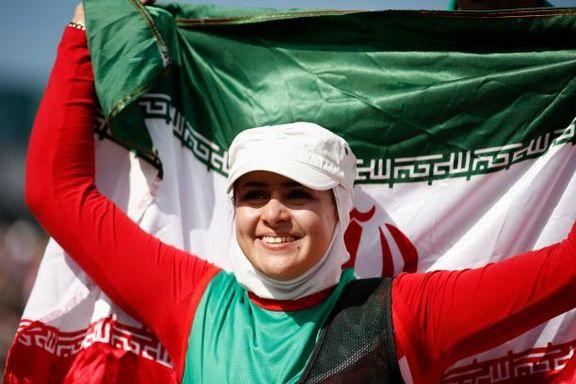 زهرا نعمتی، بر  سکوی بلند قهرمانی جهان ایستاد