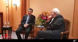 ظریف به دیدار مشاور امنیت اقلیم کردستان رفت
