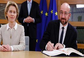 اتحادیه اروپا توافق برگزیت را امضا کرد